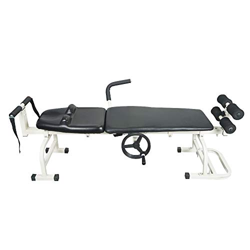 (Fisters Massage Bed Table Cervical and Lumbar Traction Bed Body Stretching Relaxing)