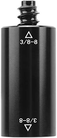 Rosvola Biljartaccessoire aluminium black biljartzwembad Cue Extension slijtvaste oefening voor zwembad Cue Leisure biljartzwembad
