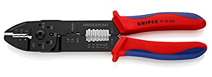 Knipex 97 22 240 - Alicate Para Entallar Terminales