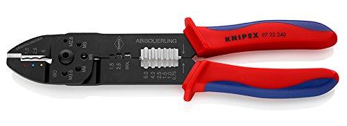 Knipex 97 22 240 Alicate Para Entallar Terminales