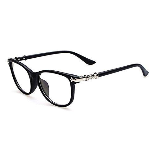 D.King Vintage Inspired Eyeglasses Frame Round Circle Clear Lens Glasses - For Frames Eyeglass Oval Shaped Faces Best