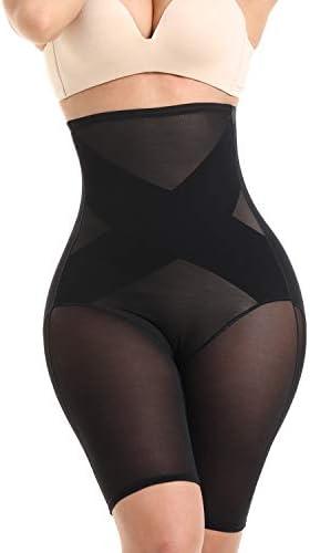 MOVWIN Tummy Control Body Shaper Shorts - High Waist Thigh Slimmer Panties Shapewear