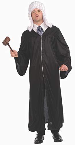Forum Unisex-Adult's Men's The Judge Costume, Black,