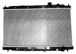 TYC 2028 Acura Integra 1-Row Plastic Aluminum Replacement Radiator Acura Integra Oem Radiator