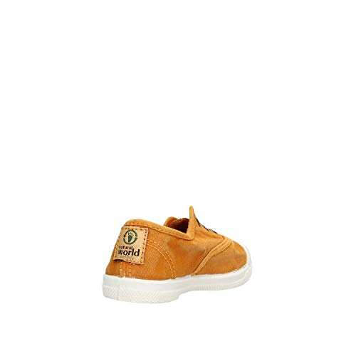 Caucciù Tessuto 470e Naturale E Scarpa World Marrone Natural In Tqw0IW5