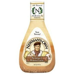 Newmans Own, Dressing Parmesan Roasted Garlic, 16 Fl Oz