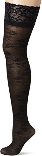 Fiore Tiberia / Golden Line Classic, Medias para Mujer, 20 DEN negro (black 001)