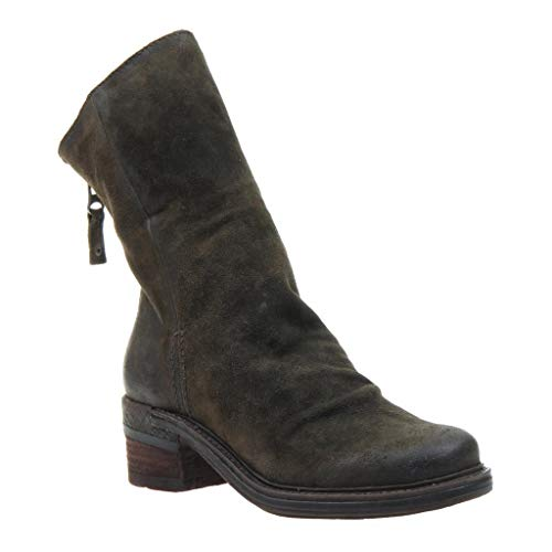 OTBT Womens Fernweh Mid-Shaft Sable Suede Boot - 7.5