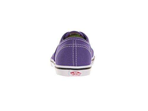 Vans K AUTHENTIC LO PRO, Baskets Mode Mädchen Pop Purple Iris/Rose Red