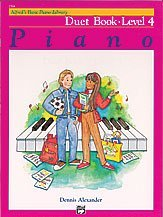 Alfred's Basic Piano Library: Duet Book, Level 4