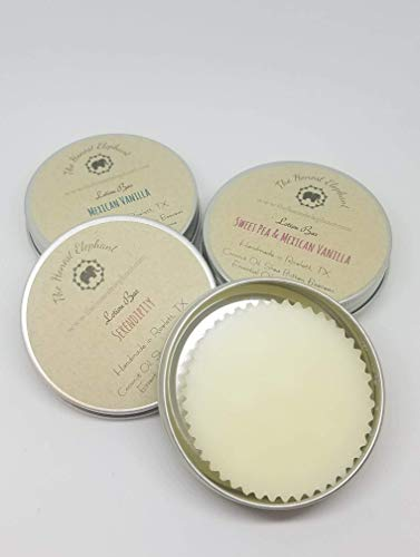 The Honest Elephant All Natural, Bee Free, Extra Moisturizing Lotion Bar with Vitamin E - Peppermint -