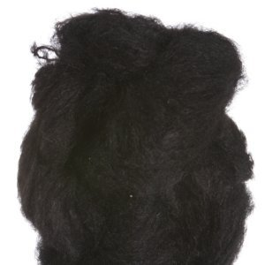 Alpaca Yarn Brushed - Blue Sky Alpacas Brushed Suri Yarn (916 Caviar)