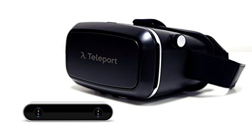 Autonomous Teleport Virtual Reality Kit (Includes: Teleport VR Camera and Teleport VR Headset, Black) by Autonomous