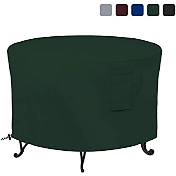 Amazon Com Firepit Covers Round 18 Oz Waterproof 100
