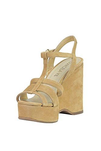 MARCELA YIL Zapatos de Vestir de Otra Piel Para Mujer Beige Beige
