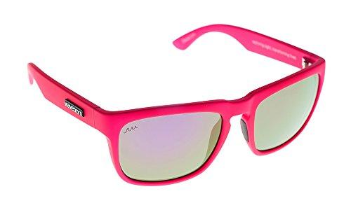 Waveborn Sunglasses Beacon Sunglasses, Fuchsia, Silver UV-Mirror - Sunglasses Uv India