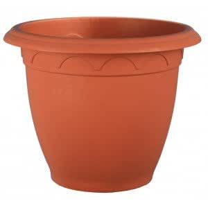 Pot plástico Campane Diam 34cm terracota código 1638