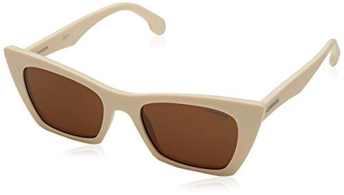 - Carrera 5044/S Sunglasses CA5044S-06HT-70-5019 - White Crystal Gray Frame, Brown Lenses, Lens