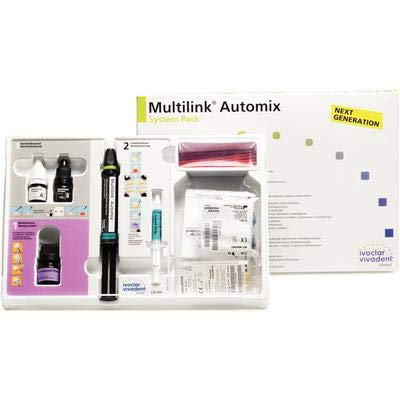 Multilink Automix Automix Cement Transparent Dual Cure System Package Each