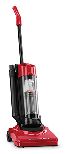 Dirt Devil Vacuum Cleaner Dynamite Plus Corded Bagless Upright Vacuum with Tools M084650 RED (Corded Devil Vacuum Dirt)