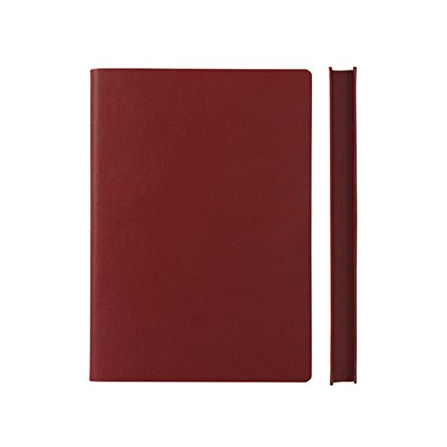 Daycraft Signature ARCHITECTURE Sketchbook - A5, Red, BLANK PAGES - 8.3