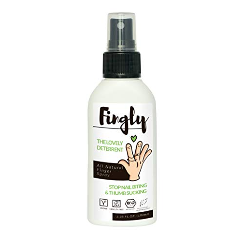 Stop Biting Nails With Fingly Spray Natural Anti Nail Biting Solution Alternative To Bitter