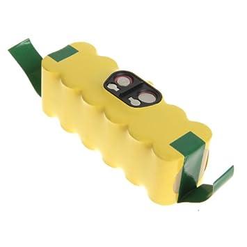 Floureon Batería de Ni-MH 14.4V 3500mAh para Aspirador Vacio, IRobot Roomba: Amazon.es: Electrónica
