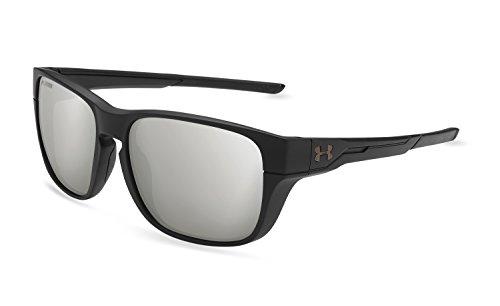 Under Armour Pulse Sunglasses, Black / Gray Lens
