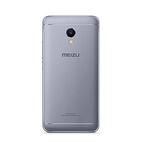 MEIZU M5S Unlocked Smart Cellphone MTK6753 Octa Core 3GB 32GB 5.2'' HD IPS Fingerprint Fast Charging Mobile(Gray)
