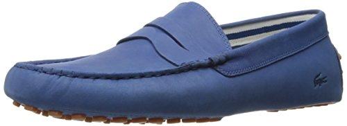 Lacoste Mens Concours 216 En Slip-on Loafer Mörkblå