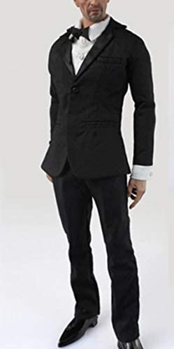 "Male Clothes 1//6 Black Men/'s Slim tight stretch leotard Clothing F 12/"" Figure"