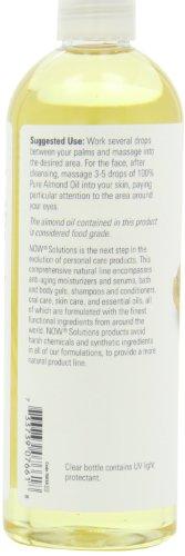 NOW Sweet Almond Moisturizing Skin Oil 16 oz
