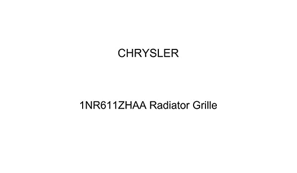 Genuine Chrysler 1NR611ZHAA Radiator Grille
