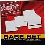 Rawlings juego de Base - x 170 Bases, Home Plate y el lanzador's montículo
