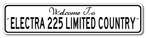 Buick Electra 225 Limited - Welcome to Car Country Sign - Aluminum 4