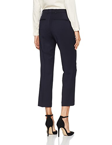 K Para 2830 Twill Hudson Azul Filippa Pantalones Cropped navy Trousers Mujer dYUqx