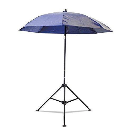 Umbrella- 7'- Blue- Vinyl- W/O Case- by