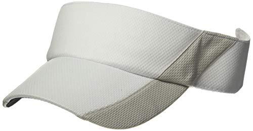 Headsweats Adult Ultralite Visor, White/Grey, One Size