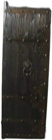 Puerta medieval antiguo derecho de puertas de madera maciza puerta corredera clavados Breite70 cm x Höhe200cm