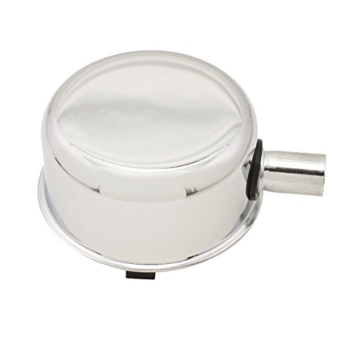 Mr. Gasket 2063 Chrome Push-On Oil Breather Cap ()
