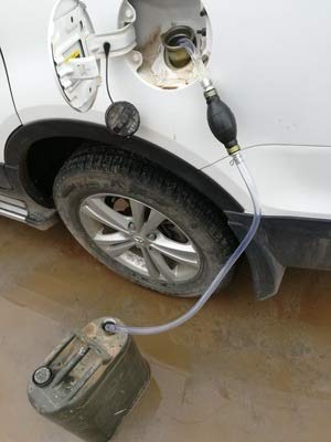 Pompe de siphon de transfert de gaz//huile//eau//carburant tuyau /écologique de pompe de transfert de carburant Voiture paille essence tuyau de siphon /à essence