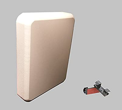 Stern Pad - Transducer Mounting Kit (No Screwing into Boat) - White from Plug Pads