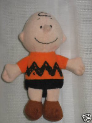 Charlie Brown Plush Doll UFS Peanuts Gang Snoopy Friend 5