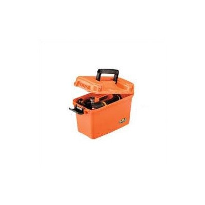 Flambeau Outdoor 1409 Orange Marine Dry Box, 14-Inch