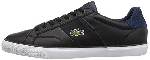 Lacoste Men's Fairlead 317 2 Sneaker, Black, 9.5 M US