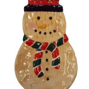Amazon.com | SNOWMAN CHRISTMAS SPOON REST: Spoons