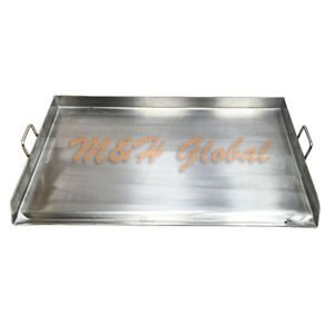 Heavy Duty Stainless Steel 36'x 22' FLAP TOP GRIDDLE Grill over triple burner