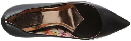 Ted 2 Cerrada para Vyixyn Baker Zapatos de Mujer Negro tacón con Black Punta rqErg8