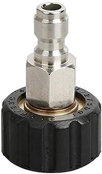 Leilims Lavadora de Alta presión Conector de conexión rápida Pistola de Lavado de Coches Varita Accesorios Kit Lavadora Juego de adaptadores Accesorios de Lavado