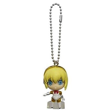 Amazon.com: Persona 3 The Movie P3 Swing mascota llavero ...